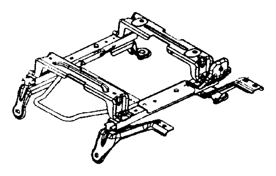2004 Dodge Ram 2500 Adjuster. Manual seat. Trim: (*vl