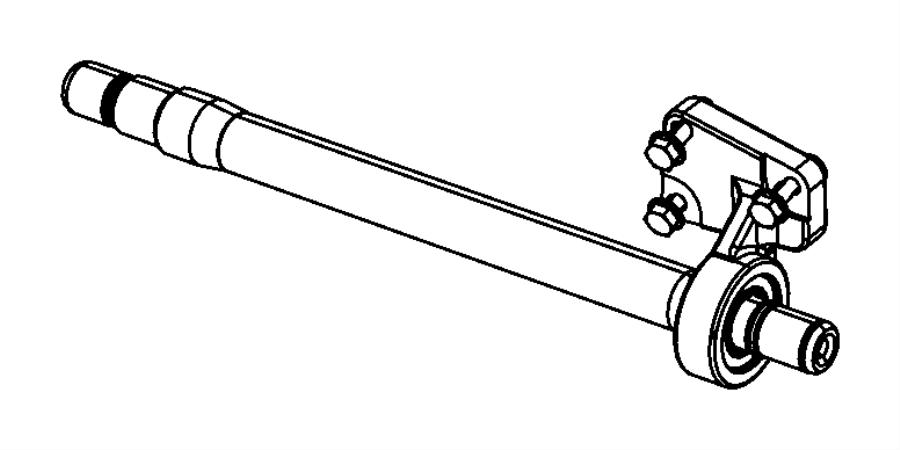 Chrysler Pacifica Shaft. Intermediate. Halfshaftawd