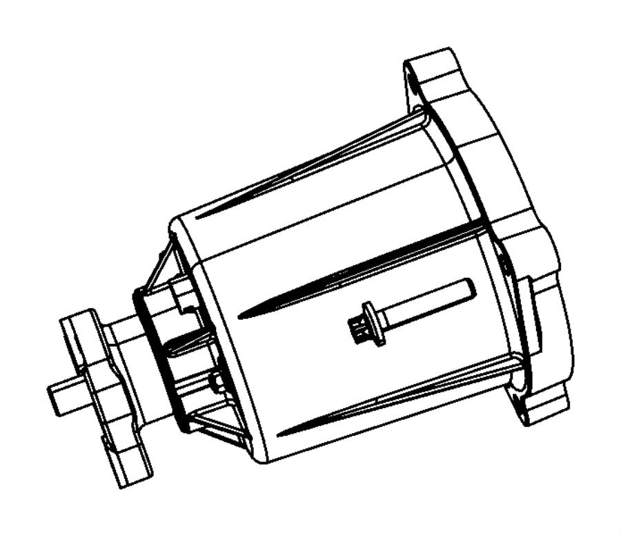 Dodge Journey Bdorc/viscous unit kit. Rear axle