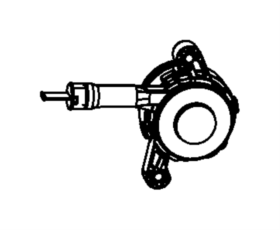 Hydraulic Clutch Actuator,Slave Cylinder and Hose.