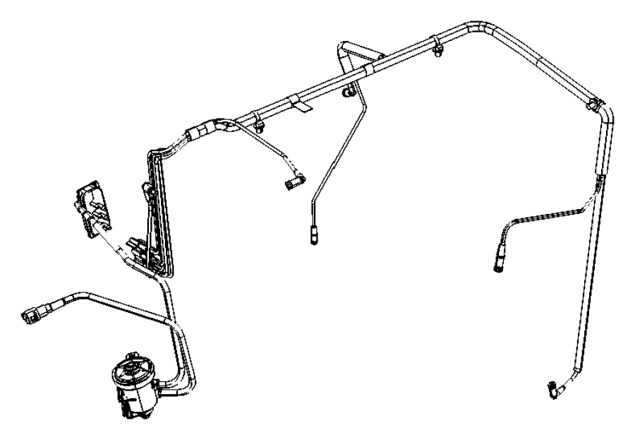 Jeep Patriot Emission Control Vacuum Harness