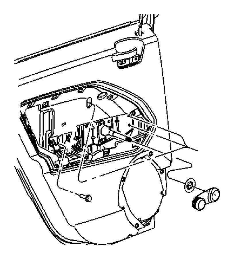 Jeep Compass Handle. Inside remote control. Right. Trim