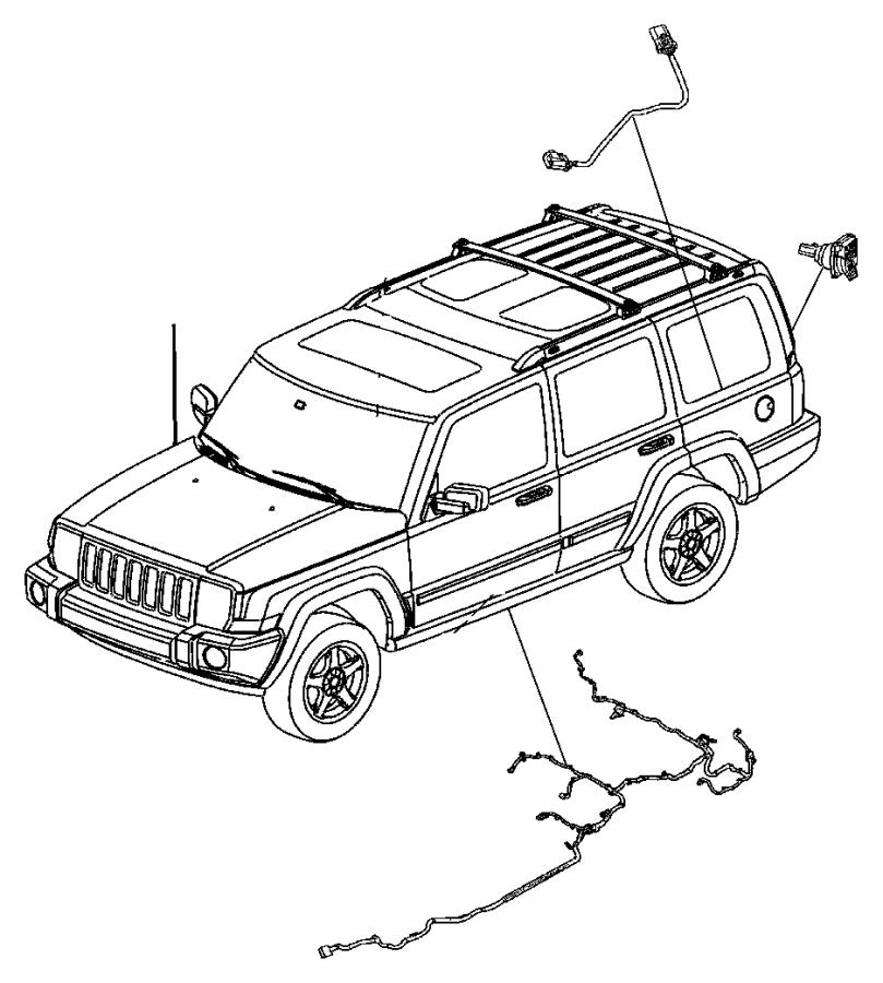 Jeep Grand Cherokee Wiring. Fuel module. [22 gallon fuel