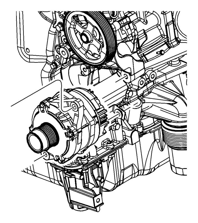 2013 Dodge Journey Generator/Alternator and Related Parts.