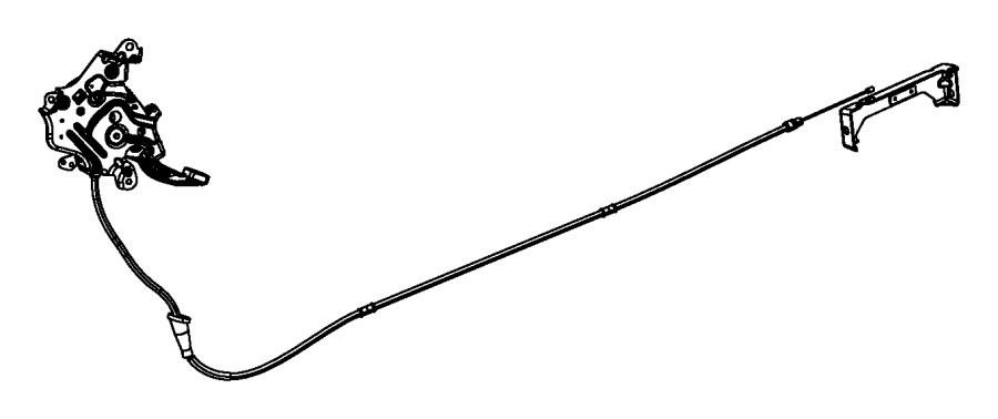 2015 Jeep Grand Cherokee Pad. Parking brake pedal