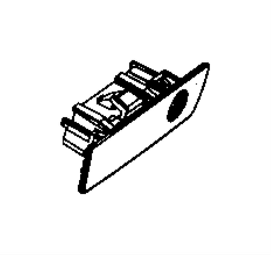 Jeep Wrangler Latch. Glovebox door. [jj], [jj], with [8