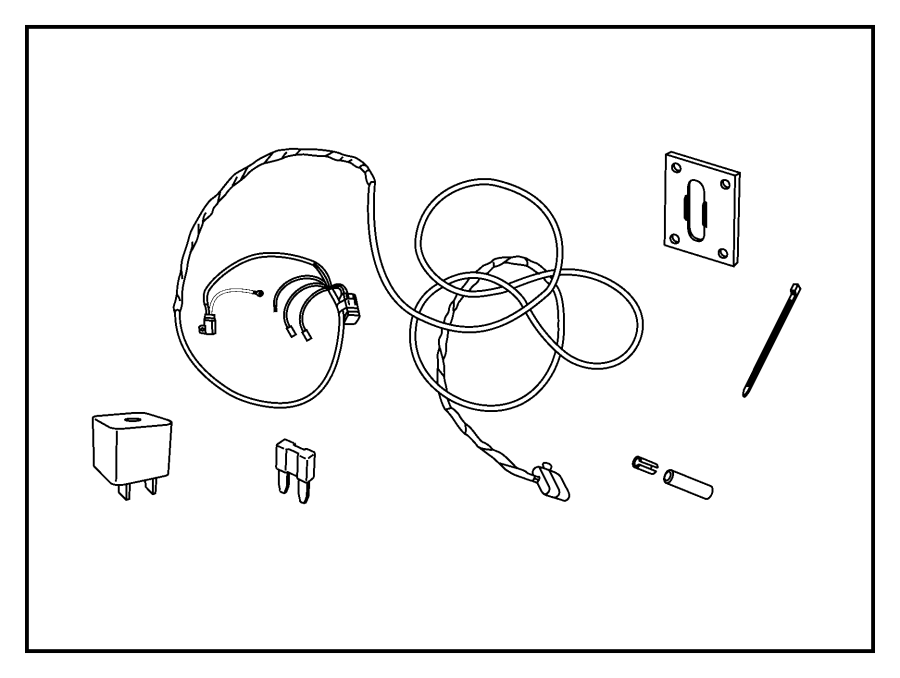 Trailer Wiring Harness Kit Auto Electrical Diagram Related With