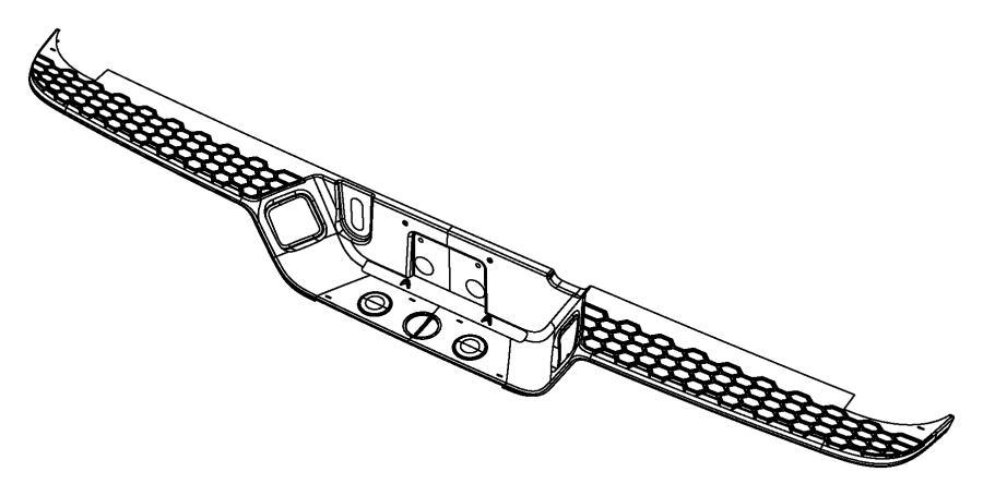 Jeep Compass Plug. Trailer hitch. Padspickup, bumperpickup
