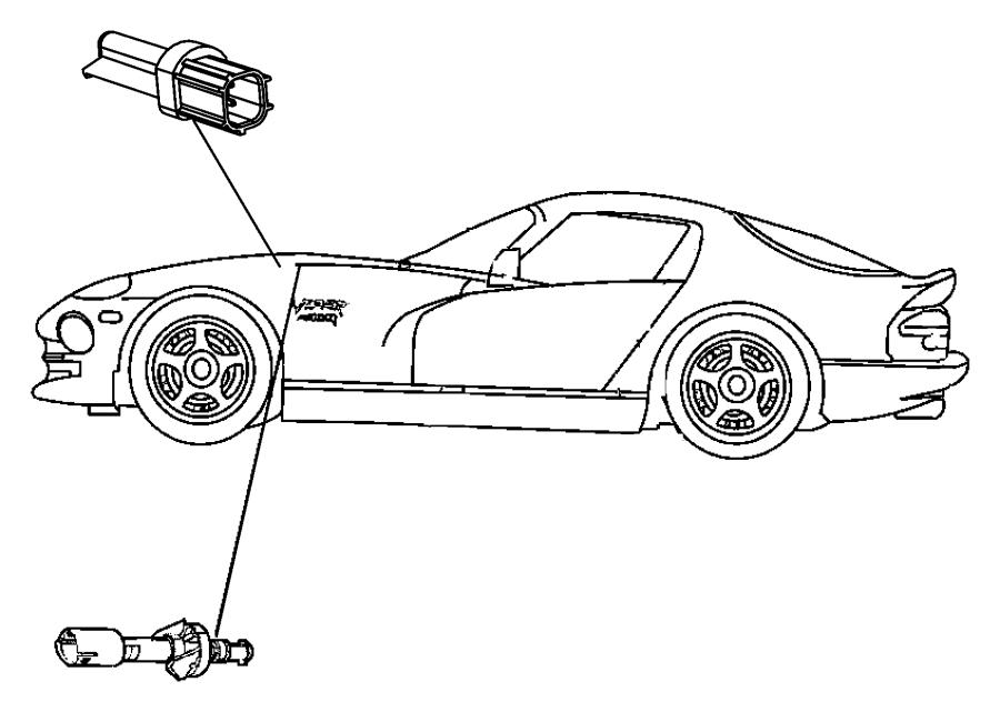 Dodge Dakota Switch. Brake fluid level. Cylinderbrake