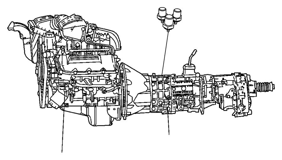 2011 Dodge Ram 3500 Switch. Oil pressure, solenoid. 1/8