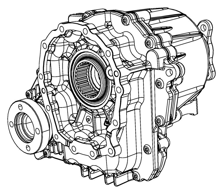 Nv233 Transfer Case Diagram