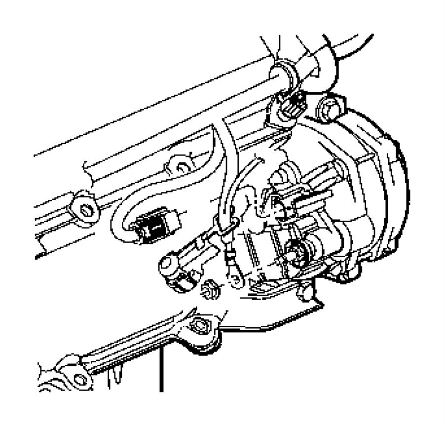 Dodge Ram 3500 Gear, nut. Mounting, parking brake lever