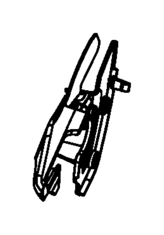 Dodge Nitro Shield. Seat, seat adjuster. Trim: [leather