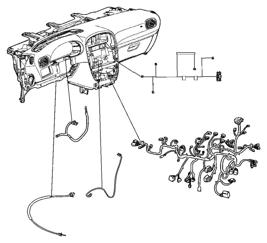 Dodge Grand Caravan Wiring. Radio adapter, steering wheel