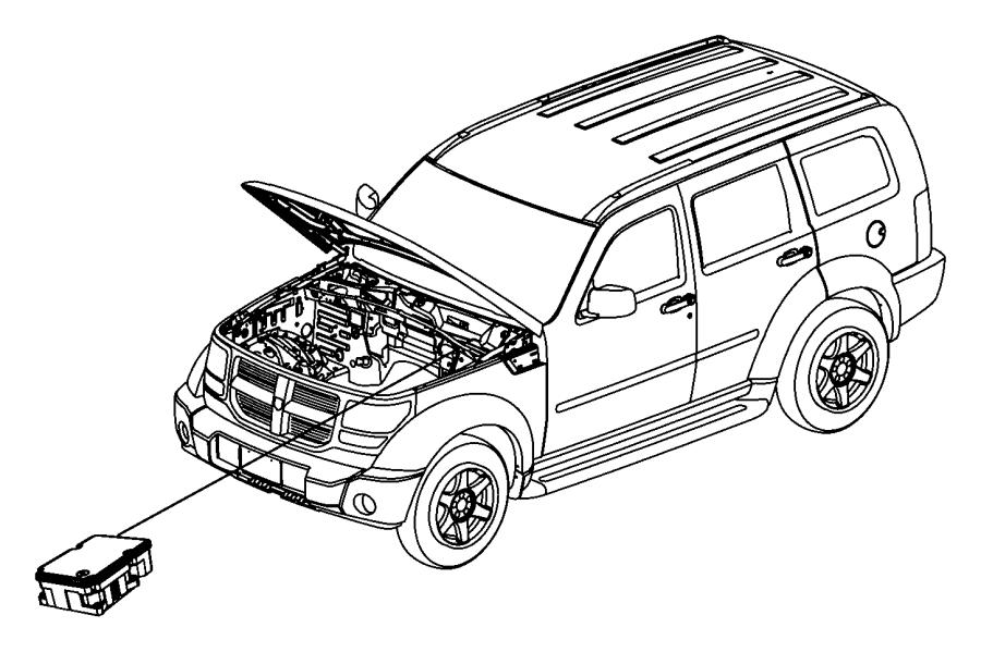 Jeep Liberty Control unit. Anti-lock brake. Hydraulic