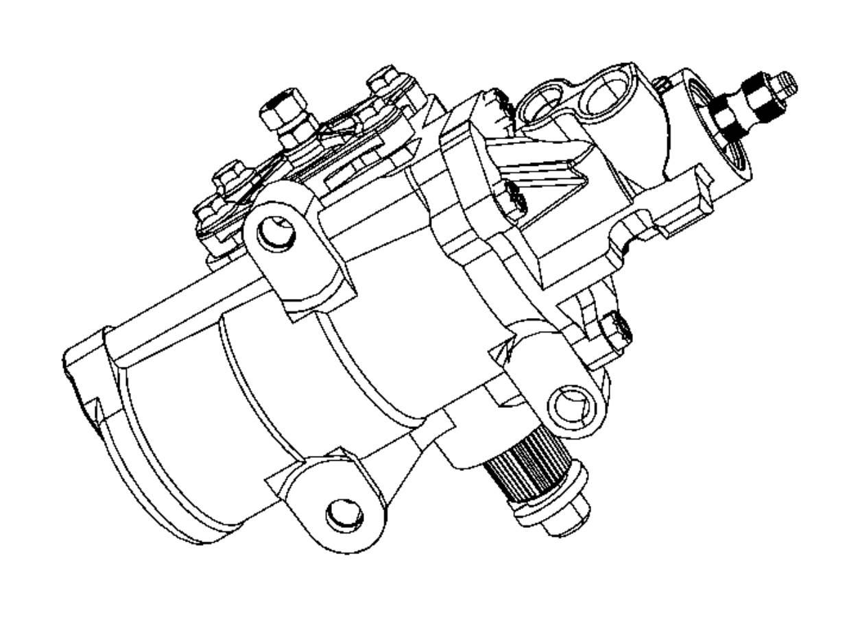 2012 Dodge Ram 5500 Gear. Power steering. After 07/04/11