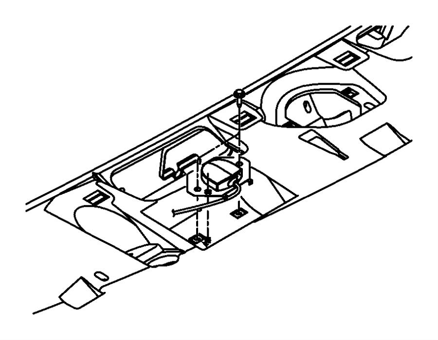 Jeep Wrangler Antenna. Global positioning. Modulesirius