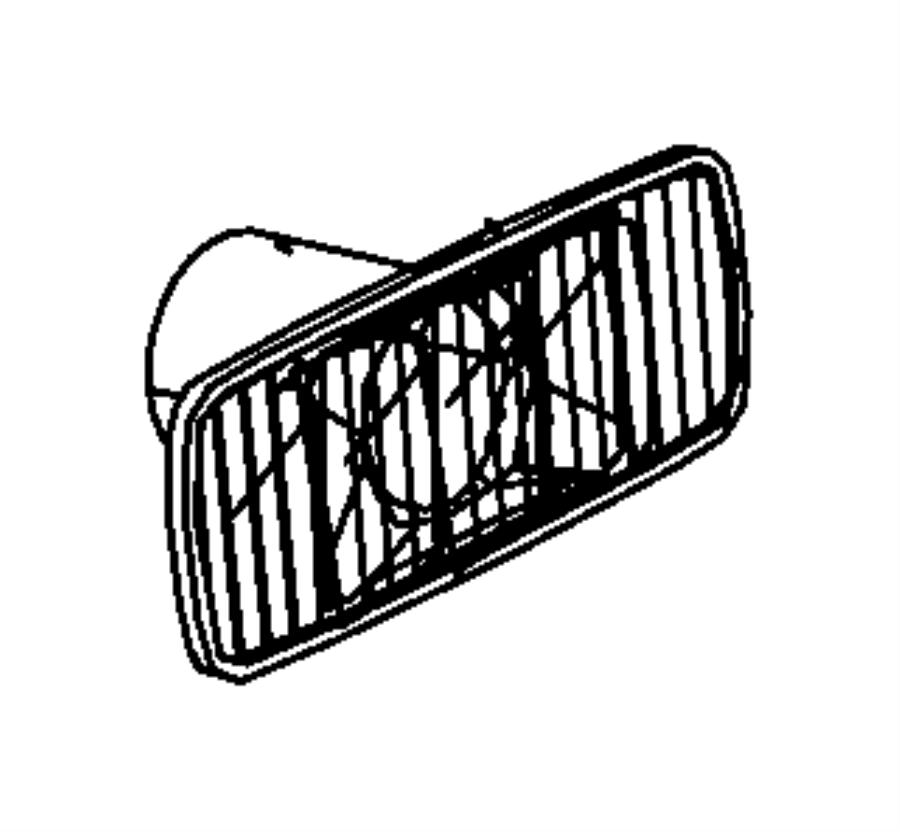 Dodge Ram 3500 Lamp. Fender marker, side marker. Rear
