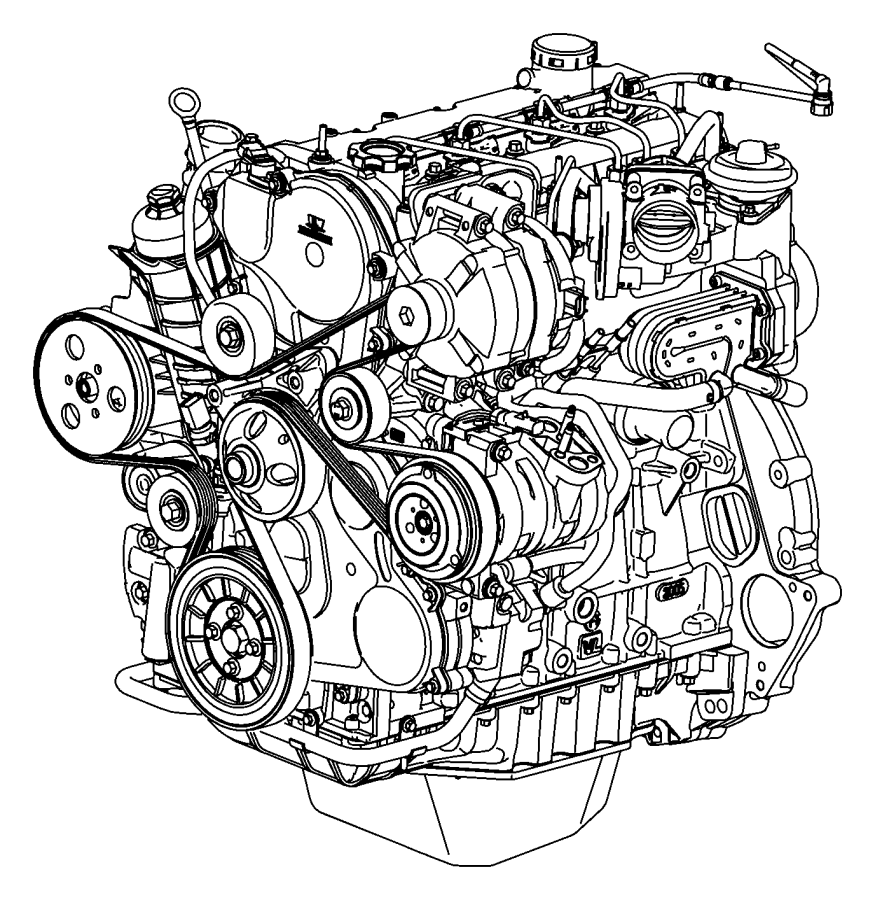Engine Assembly And Service Long Block 2.8LDiesel [2.8L I4