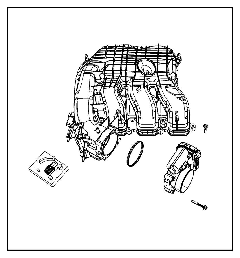 Chrysler 200 Convertible Touring Sensors, Engine.