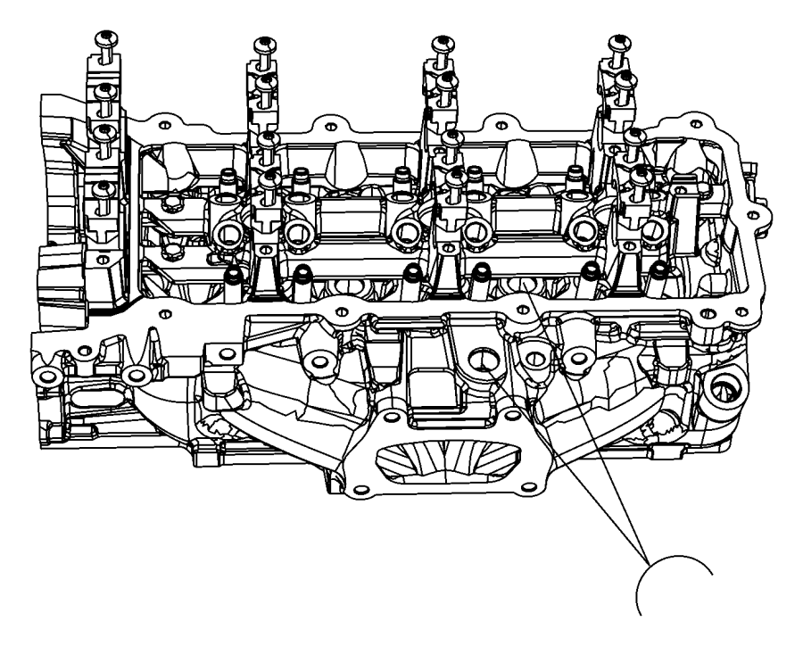 Dodge Charger Bolt, screw. 6 lobe recessed head, pan head