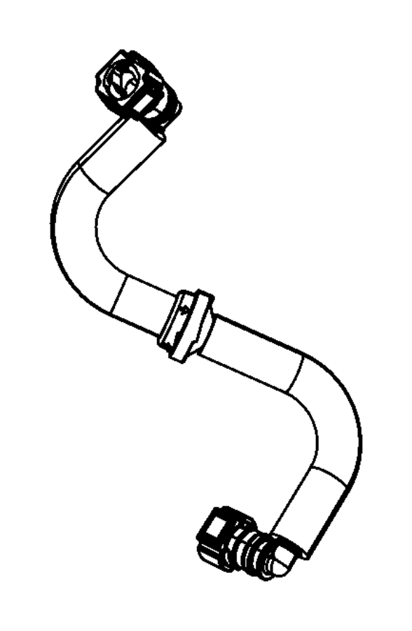 2017 Chrysler 300 Hose. Brake booster vacuum. Left. Vacuum