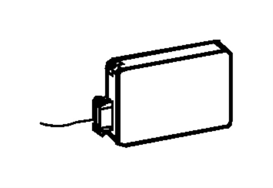2013 Jeep Grand Cherokee Sensor. Blind spot detection