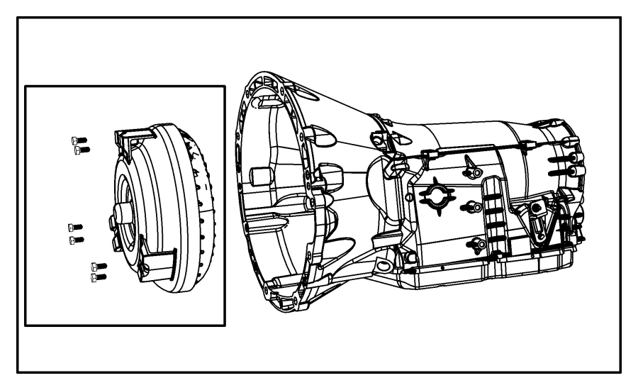2012 Jeep Wrangler Transmission kit. With torque converter