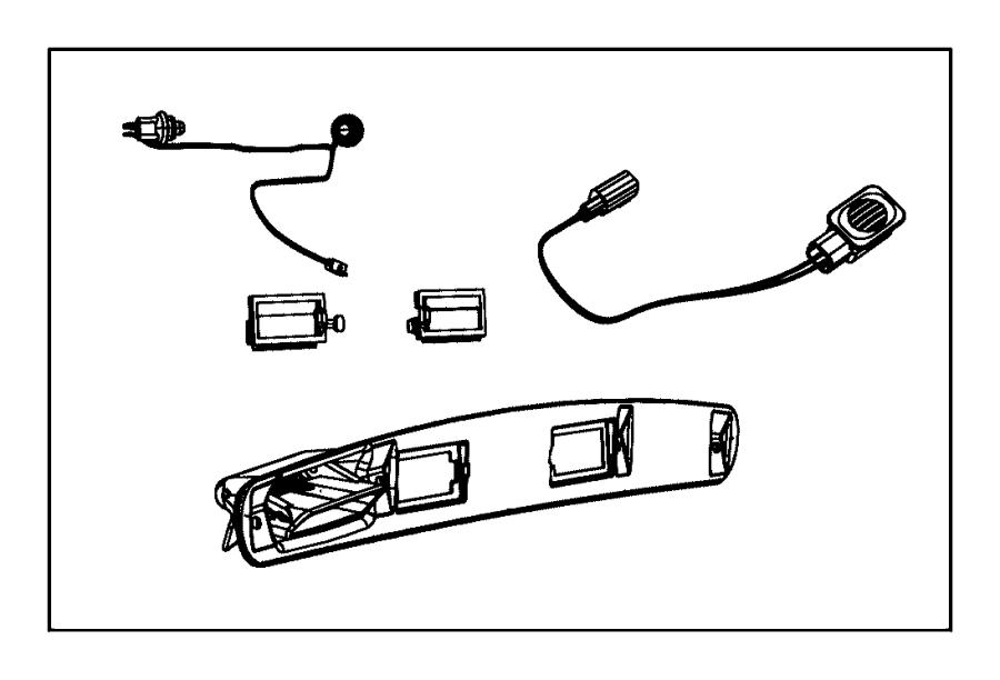Dodge Journey Handle. Liftgate. Entryparkviewtm