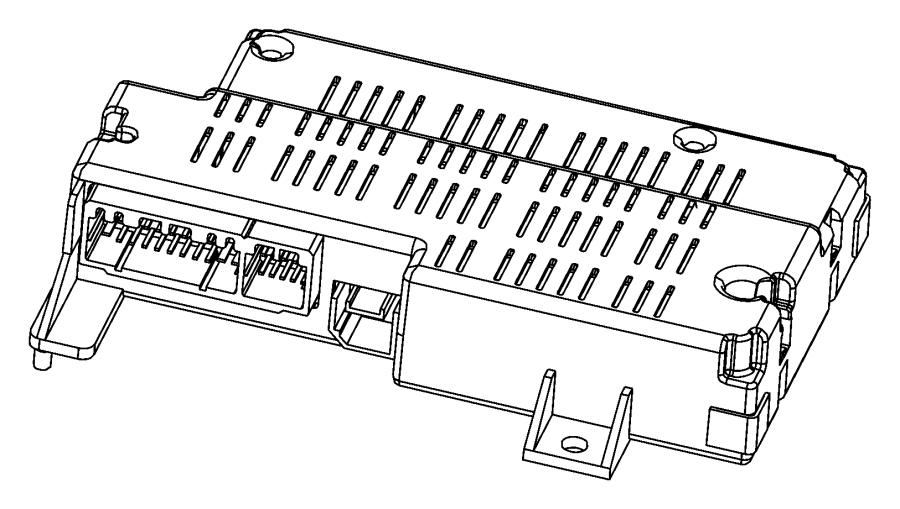2012 Dodge Journey Module. Telematics. Juconnect
