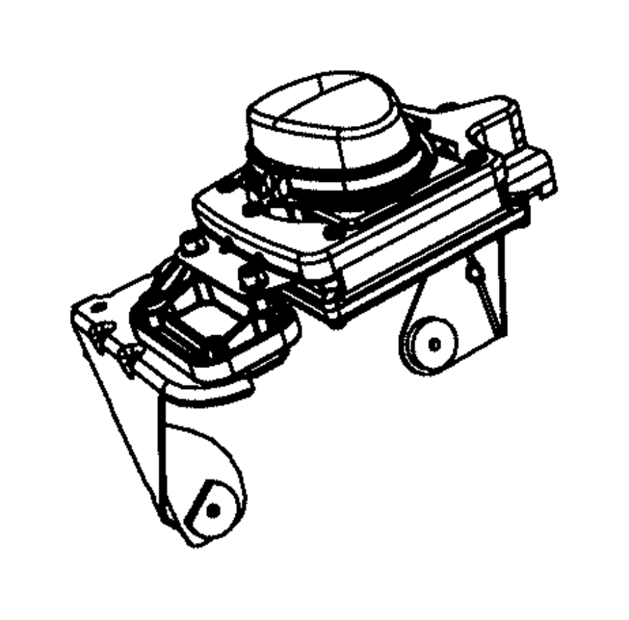 Chrysler 300 Used for: SENSOR AND BRACKET. Adaptive Speed