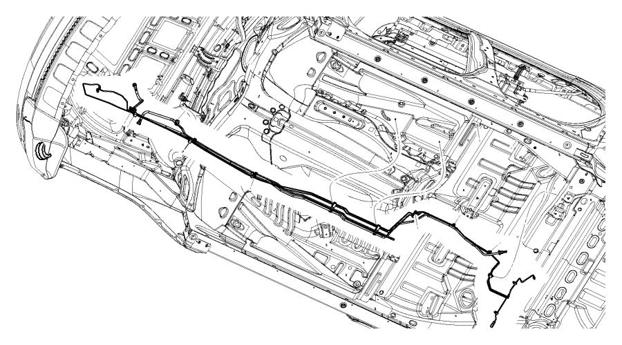 Dodge Durango Bundle. Fuel line. [3.6l v6 vvt engine], [5