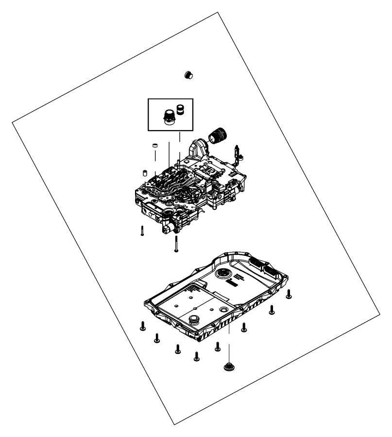 Oil Pan, Filter And Related Parts