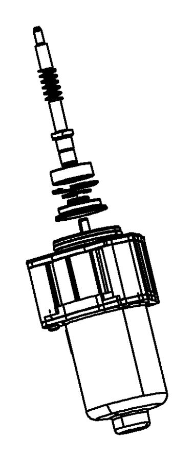 Jeep Grand Cherokee Gear motor. Transfer case. Dhb