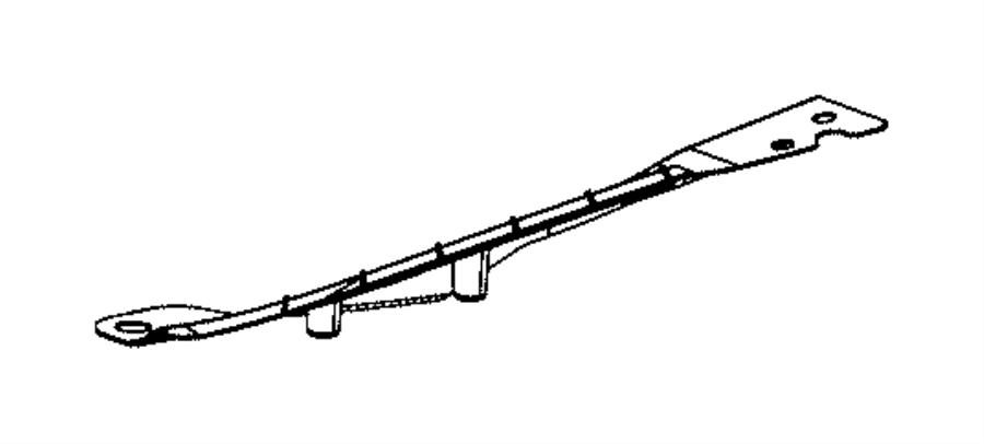 2015 Dodge Dart Bracket. Fascia support. Left, right