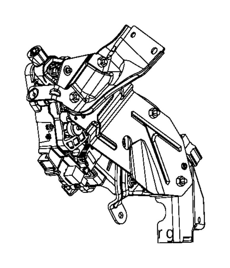 2015 Dodge Charger Shifter. Transmission. Controlscolumn