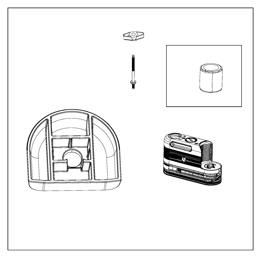 Jeep Grand Cherokee Emergency kit, inflator kits. Tire
