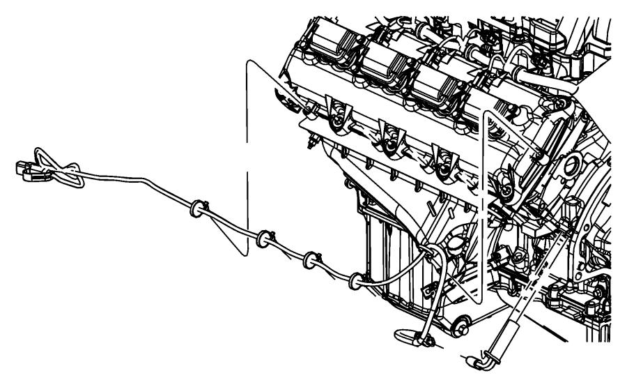 Dodge Ram 2500 Cord. Engine block heater. Earlier