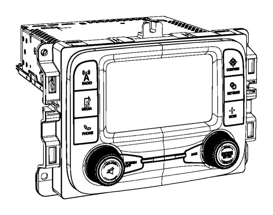 2013 Dodge Ram 1500 Radio. Multi media. [uconnect 5.0 am
