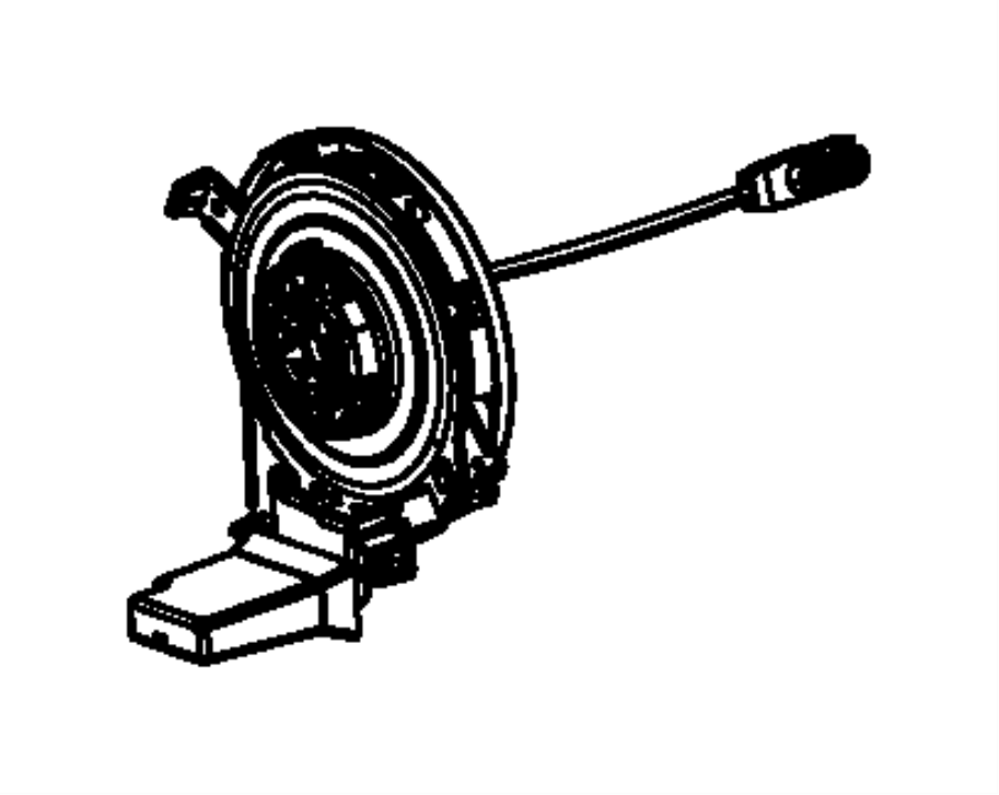 2013 Dodge Dart Clockspring. Steering column control