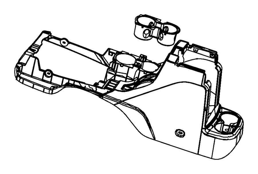 Jeep Wrangler Base. Floor console. Trim: [no description