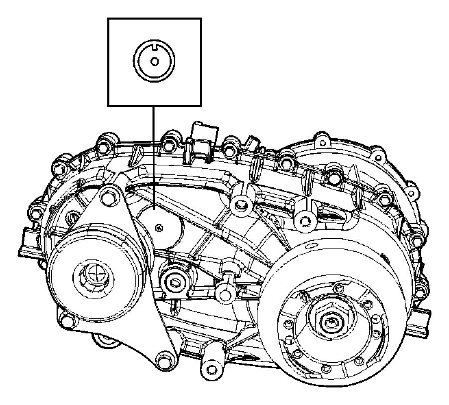 2008 Jeep Wrangler Transfer case. Np241. Relabel