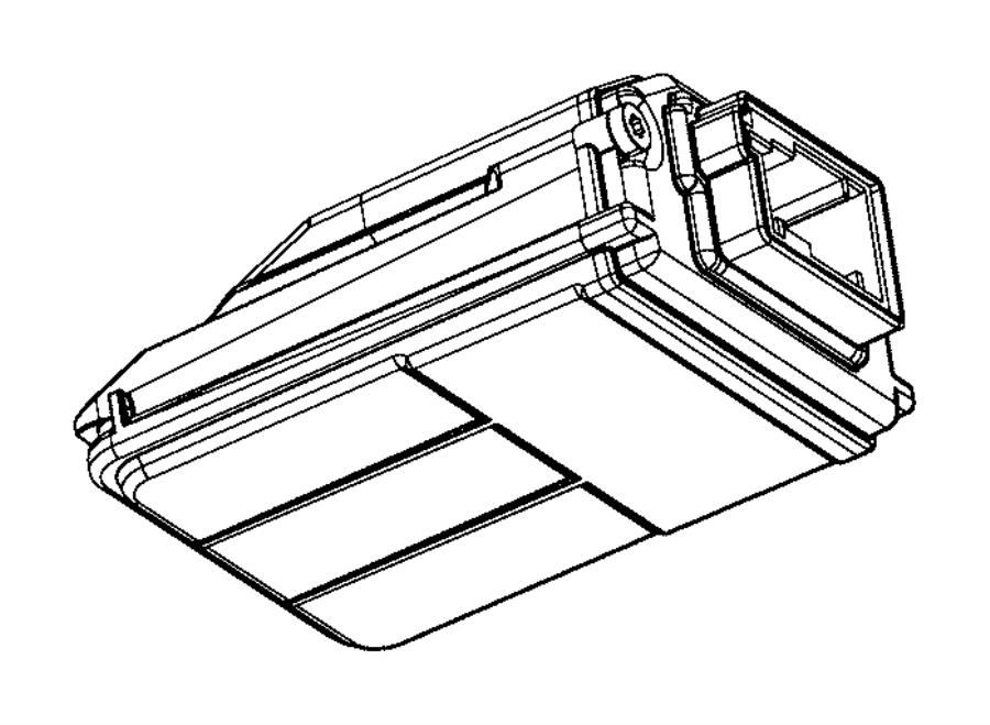 Jeep Grand Cherokee Camera. Forward facing. Plusadvanced