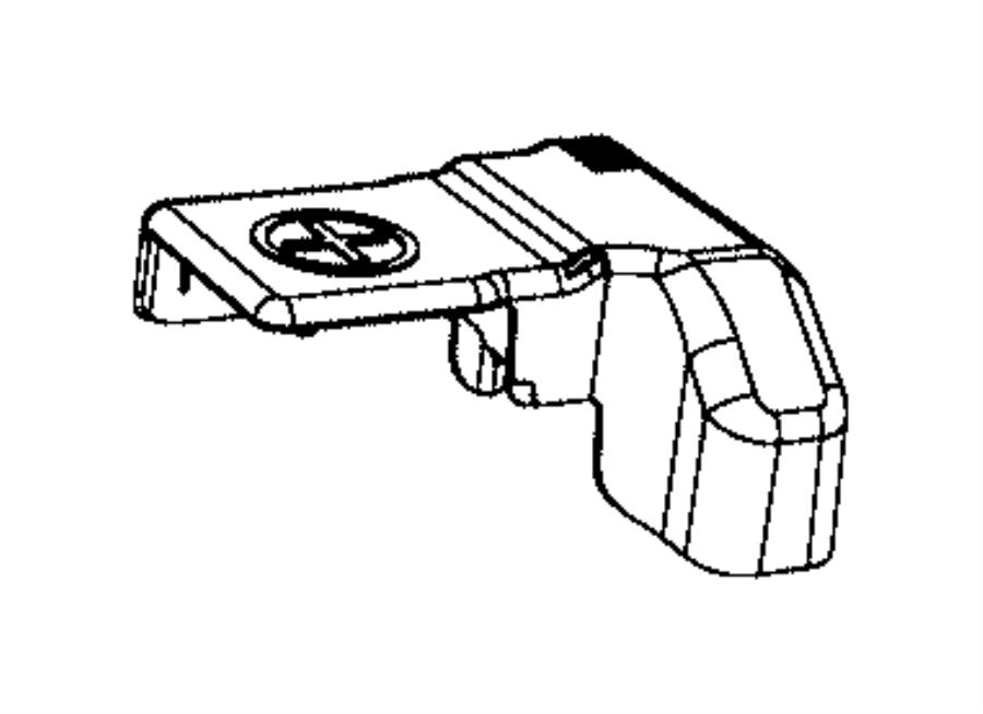 Dodge Ram 1500 Cover, insulator assembly. Battery post