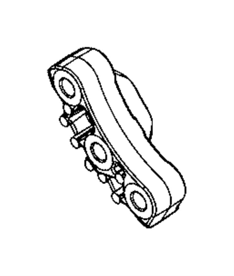 2013 Dodge Dart Bracket. Engine mount. [6-speed automatic