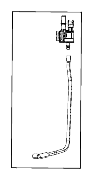 04627694AA  Chrysler Valve Purge control Esh, esb, erc, ezf | Factory Chrysler Parts, Bartow Fl