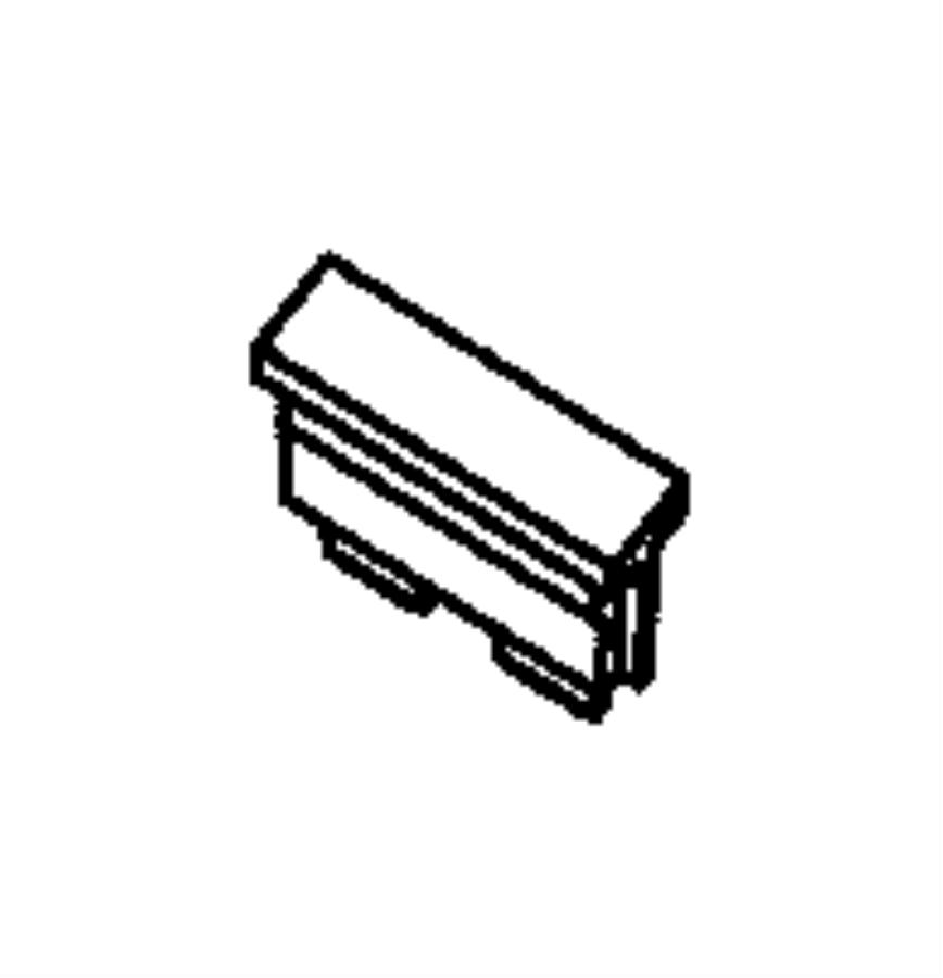 Dodge Ram 2500 Fuse. M case, mini j case. 30 amp. Export