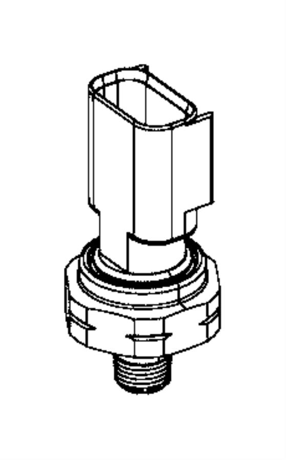 2017 Chrysler Pacifica Sensor. Oil pressure, temperature