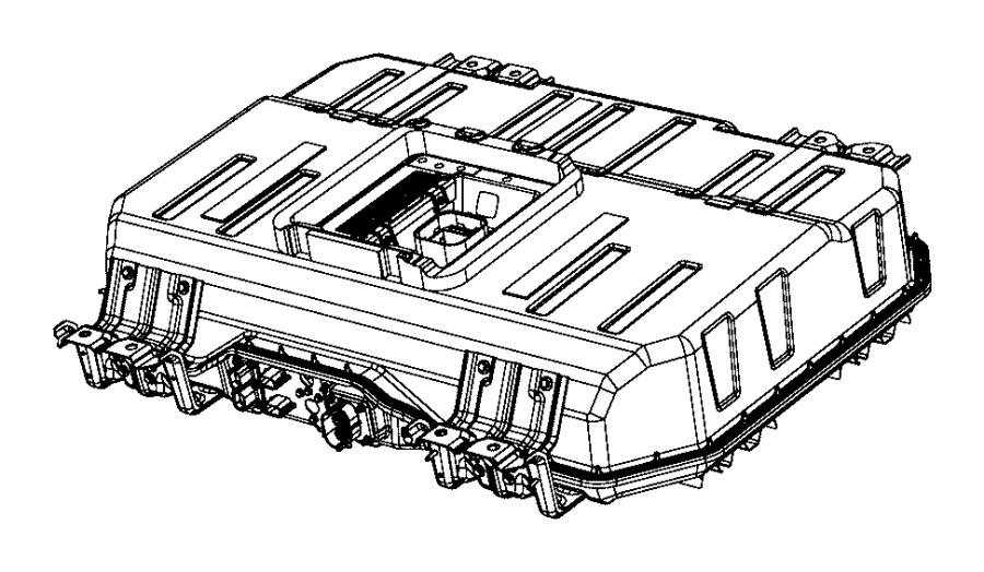 2017 Chrysler Pacifica Battery kit. Hybrid. [phev