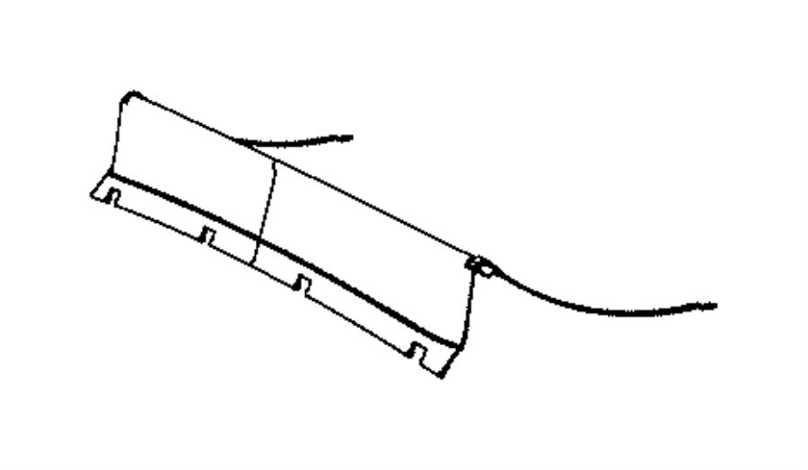 Jeep Grand Cherokee Deflector. Sunroof wind. Trim: [all